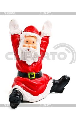 Santa Claus, Figur auf Weiß | Foto mit hoher Auflösung |ID 3015681