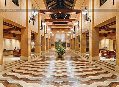 Huge hall interior in golden colors | High resolution stock photo |ID 3016689