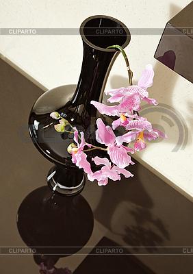 Vase mit Orchidee Blume | Foto mit hoher Auflösung |ID 3016747