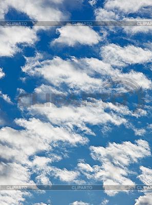 Schäfchenwolken am blauen Himmel-Hintergrund | Foto mit hoher Auflösung |ID 3016849