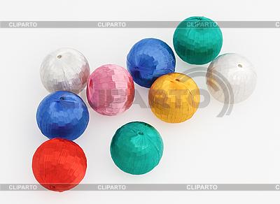 Новогодние елочные шарики | Фото большого размера |ID 3016887
