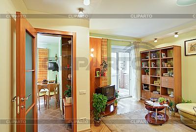 Wohnzimmer und Küche | Foto mit hoher Auflösung |ID 3016936