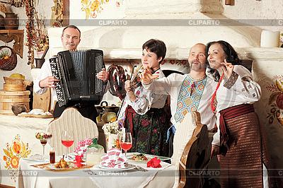 Ukrainian ethnic music band concert | High resolution stock photo |ID 3016961