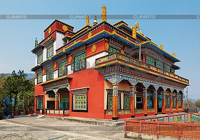 Alte buddhistische Tempel-Architektur, Pokhara, Nepal | Foto mit hoher Auflösung |ID 3016989