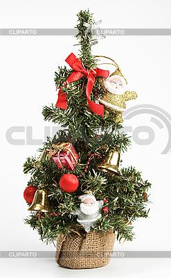 geschm ckter weihnachtsbaum foto mit hoher aufl sung cliparto. Black Bedroom Furniture Sets. Home Design Ideas