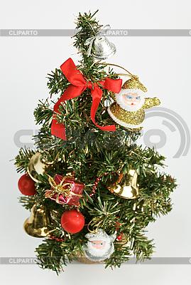 Geschmückter Weihnachtsbaum | Foto mit hoher Auflösung |ID 3017270