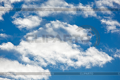 Schäfchenwolken am blauen Himmel-Hintergrund | Foto mit hoher Auflösung |ID 3024446