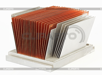 CPU cooler radiator | High resolution stock photo |ID 3024551
