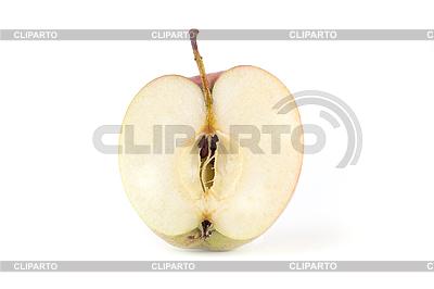 Half of ripe apple   Foto stockowe wysokiej rozdzielczości  ID 3017458