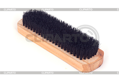 Brown wooden brush  | High resolution stock photo |ID 3017580