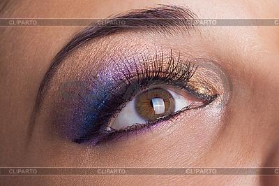 Auge Make-up | Foto mit hoher Auflösung |ID 3017636