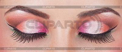 Fantastic make up eye | High resolution stock photo |ID 3017649