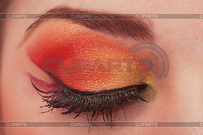 Fantastic make up eye.   High resolution stock photo  ID 3017656