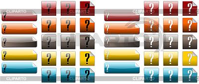 Fragezeichen   Illustration mit hoher Auflösung  ID 3017862