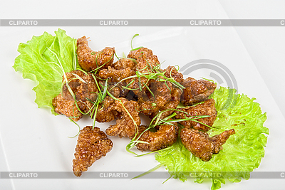 Fish fillet baked at caramel | High resolution stock photo |ID 3018787