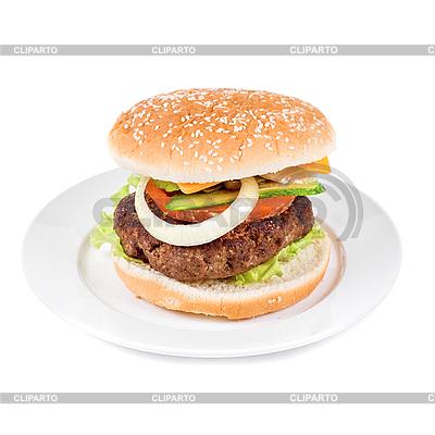 Burger   High resolution stock photo  ID 3019388