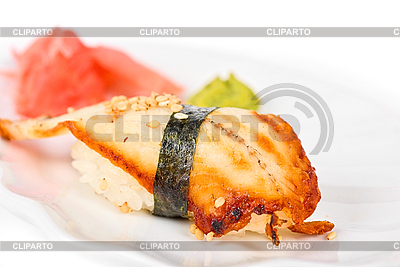 鳗鱼寿司   高分辨率照片  ID 3019430