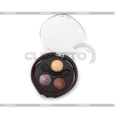 Cosmetic paints with warm tones | Foto stockowe wysokiej rozdzielczości |ID 3019562