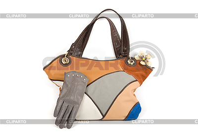 Women bag with gloves | High resolution stock photo |ID 3019666
