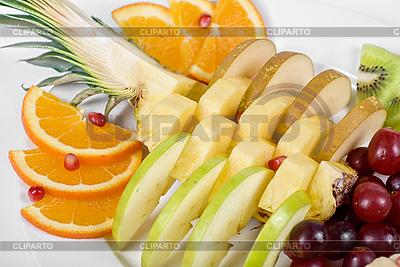 Asortyment Owoce zbliżenie | Foto stockowe wysokiej rozdzielczości |ID 3019706