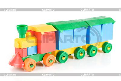 Farbiges Zug Spielzeug | Foto mit hoher Auflösung |ID 3019742