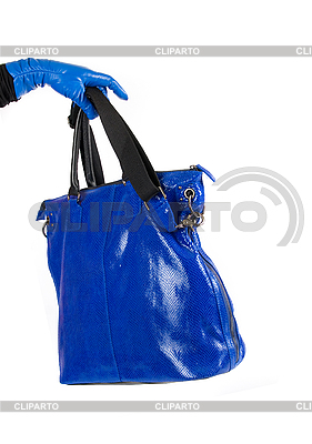 Blue bag | High resolution stock photo |ID 3019748