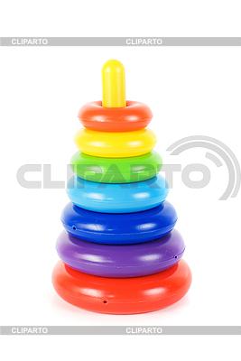 Plastikowe zabawki piramidy | Foto stockowe wysokiej rozdzielczości |ID 3020011