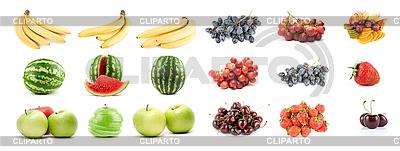 Obst und Beeren | Foto mit hoher Auflösung |ID 3020633