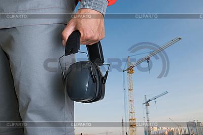 Schützende Kopfhörer | Foto mit hoher Auflösung |ID 3020699