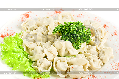 Meat dumplings closeup | High resolution stock photo |ID 3020854