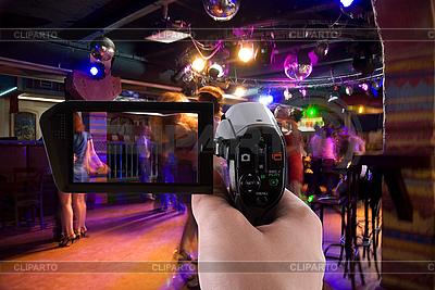 Nagrywanie club impreza | Foto stockowe wysokiej rozdzielczości |ID 3020855