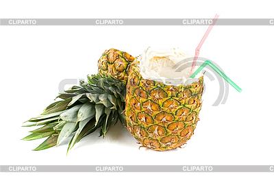 Koktajl ananasowy | Foto stockowe wysokiej rozdzielczości |ID 3020871