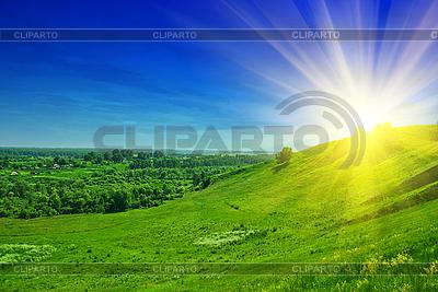 Sommer-Landschaft | Foto mit hoher Auflösung |ID 3020884