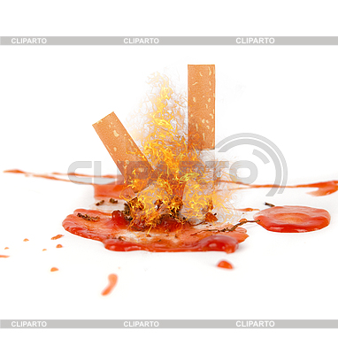 Palenie zabija   Foto stockowe wysokiej rozdzielczości  ID 3021104