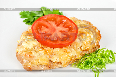 Pieczony stek wieprzowy | Foto stockowe wysokiej rozdzielczości |ID 3021315