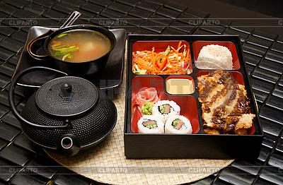 Sushi lunch | Foto stockowe wysokiej rozdzielczości |ID 3026996