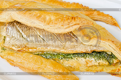 Smaczne danie z ryb pstrąga | Foto stockowe wysokiej rozdzielczości |ID 3027041