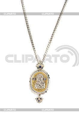 Religijnych biżuteria wisiorek icon | Foto stockowe wysokiej rozdzielczości |ID 3027066