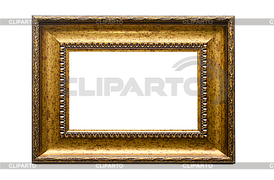 Picture gold frame | High resolution stock photo |ID 3027106