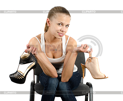 Shoes choice | High resolution stock photo |ID 3027112
