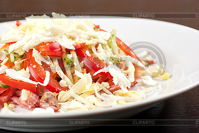 Fleisch-Salat   Foto mit hoher Auflösung  ID 3027121