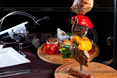 Meat dish   High resolution stock photo  ID 3027122