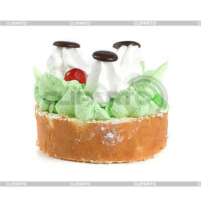 Frischer Sahnekuchen | Foto mit hoher Auflösung |ID 3027193