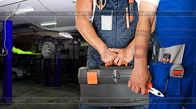 Auto mechanics | High resolution stock photo |ID 3027249