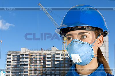 Builder girl | High resolution stock photo |ID 3027267