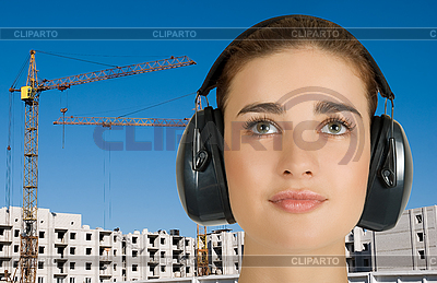 Safety earphone | High resolution stock photo |ID 3027270