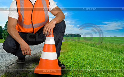 Road worker | High resolution stock photo |ID 3027317