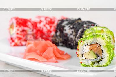 Sushi rolls   High resolution stock photo  ID 3027422