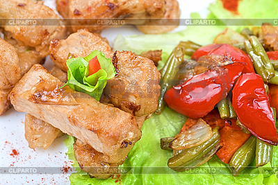 Orientalischer Salat | Foto mit hoher Auflösung |ID 3027451