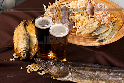 Beer and snacks set | High resolution stock photo |ID 3027489